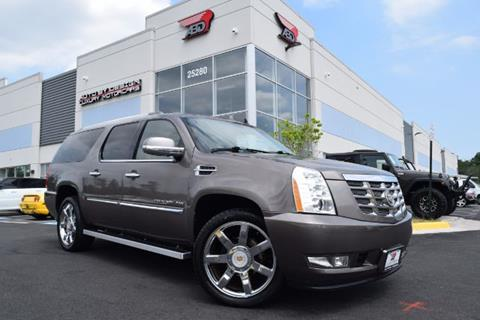 2012 Cadillac Escalade ESV for sale in Chantilly, VA