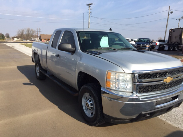 2011 Chevrolet Silverado 2500HD 4x4 Work Truck 4dr Extended Cab SB - Davenport IA