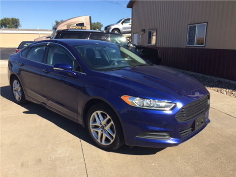 2013 Ford Fusion for sale in Davenport, IA