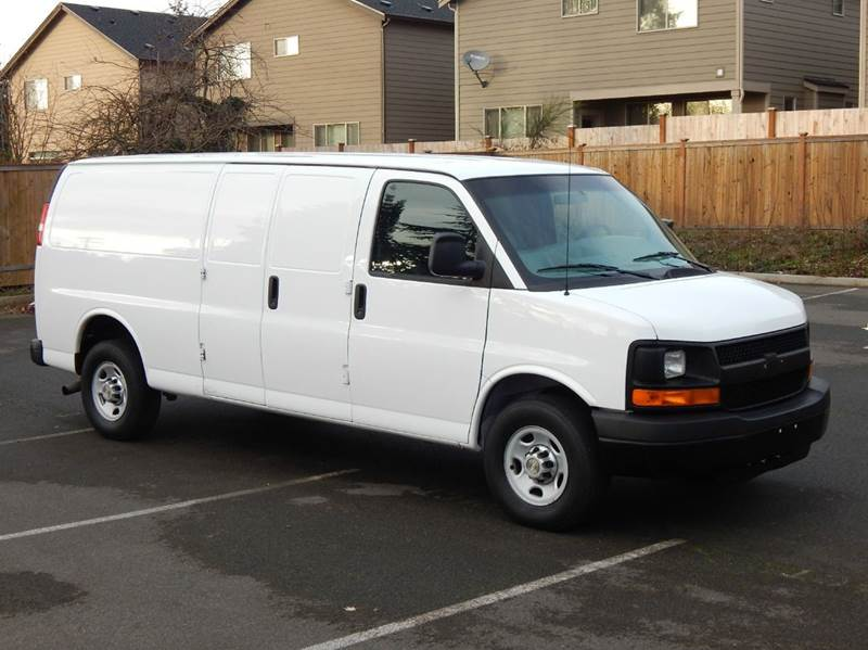 2011 chevrolet express cargo 2500 3dr extended cargo van w. Black Bedroom Furniture Sets. Home Design Ideas