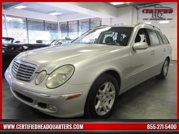 2005 Mercedes-Benz E-Class for sale in St James, NY