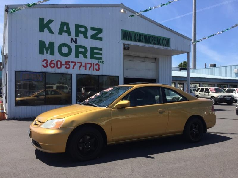 2001 Honda Civic EX 2dr Coupe   Longview WA