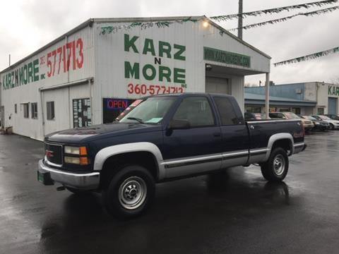 1998 GMC Sierra 2500 for sale in Longview, WA