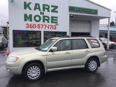 2006 Subaru Forester for sale in Longview, WA