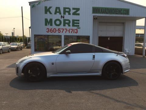 2006 Nissan 350Z for sale in Longview, WA