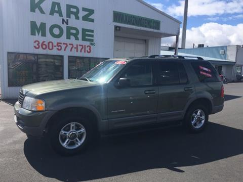 2002 Ford Explorer for sale in Longview, WA
