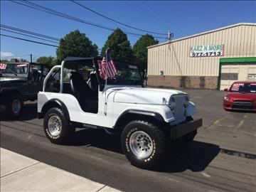 1971 Jeep CJ-5 for sale in Longview, WA