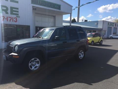2002 Jeep Liberty for sale in Longview, WA