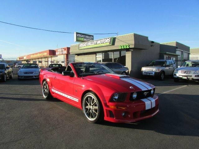 Used 2005 Ford Mustang Gt Premium In Las Vegas Nv At Vegas