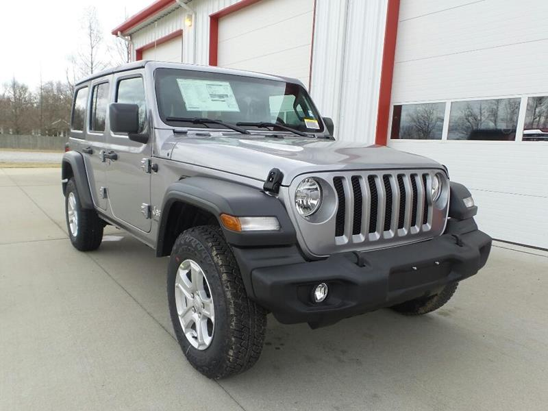 2018 Jeep Wrangler Unlimited 4x4 Sport 4dr SUV (midyear release) In