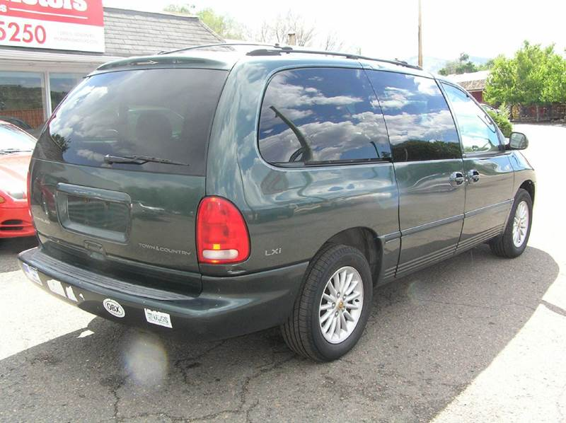 2000 chrysler town and country lxi awd 4dr extended mini van in wheat ridge co mcmanus motors. Black Bedroom Furniture Sets. Home Design Ideas