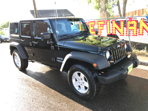 2012 Jeep Wrangler Unlimited for sale in Wheat Ridge, CO