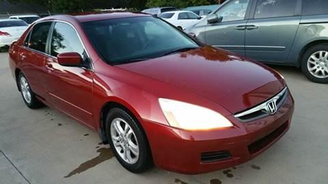 2007 Honda Accord for sale in Oklahoma City, OK