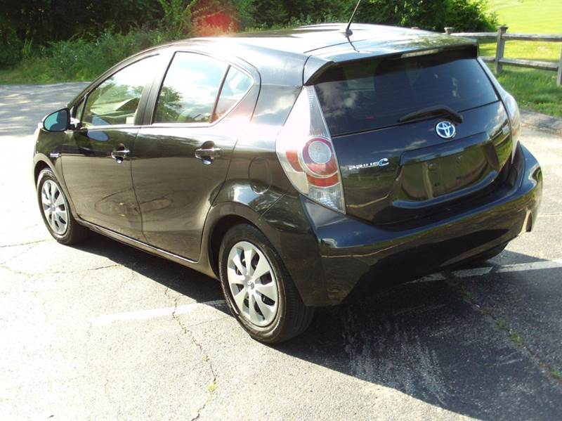 2012 Toyota Prius C One 4dr Hatchback In Maynard Ma Greater Auto
