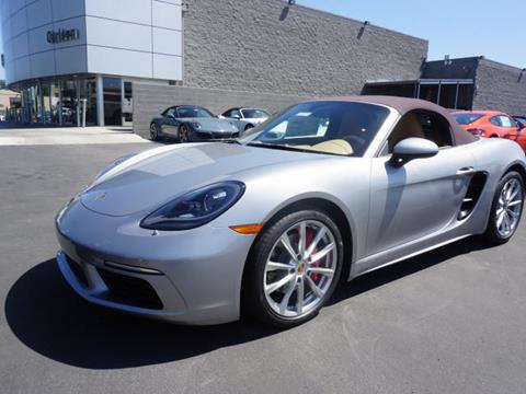 2017 Porsche 718 Boxster for sale in Redwood City CA