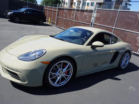 2017 Porsche 718 Cayman for sale in Redwood City CA