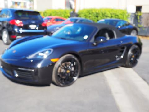 2017 Porsche 718 Boxster for sale in Redwood City, CA
