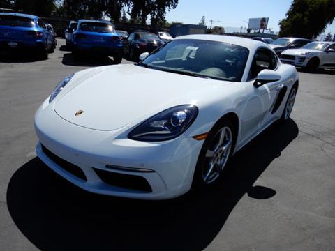 2018 Porsche 718 Cayman for sale in Redwood City, CA