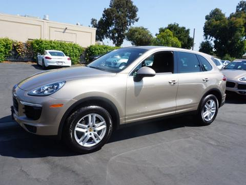 2016 Porsche Cayenne for sale in Redwood City CA