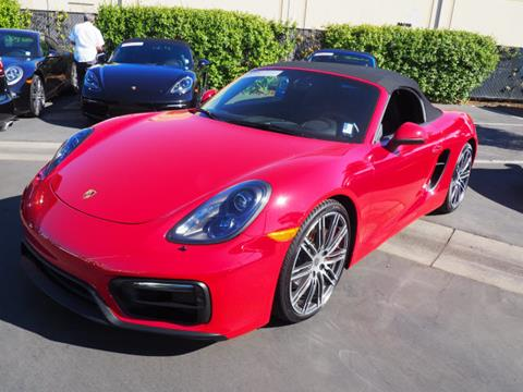 2016 Porsche Boxster for sale in Redwood City CA