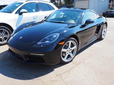 2018 Porsche 718 Cayman for sale in Redwood City CA