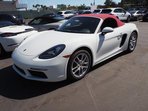 2018 Porsche 718 Boxster for sale in Redwood City, CA