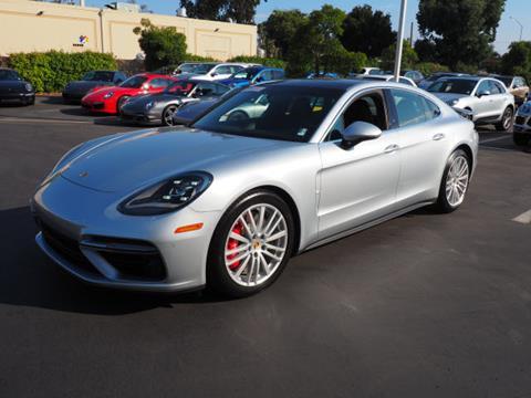 2017 Porsche Panamera for sale in Redwood City CA