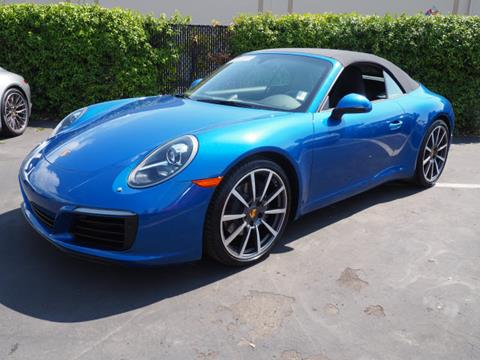 2017 Porsche 911 for sale in Redwood City, CA