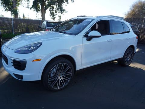 2017 Porsche Cayenne for sale in Redwood City CA