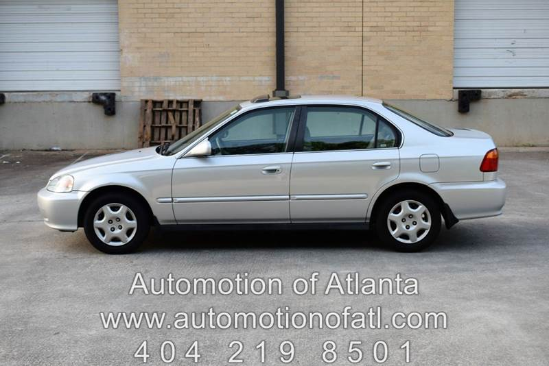 1999 Honda Civic EX Sedan   Tucker GA