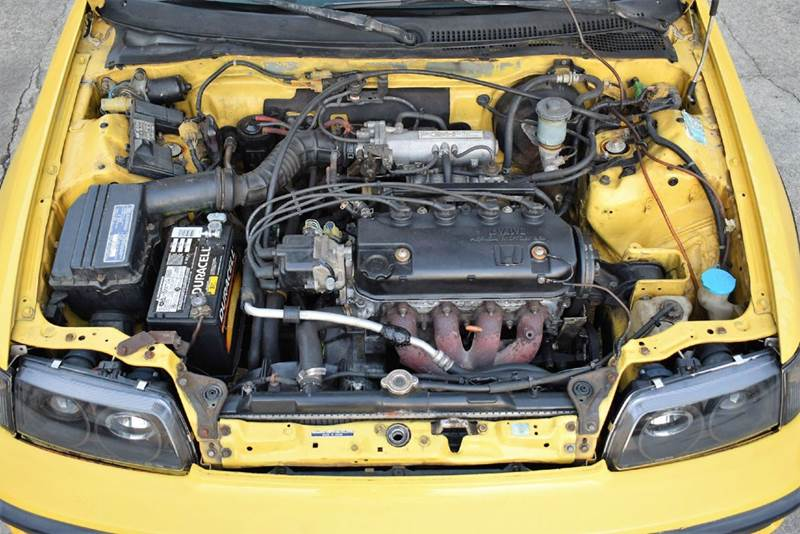 1990 honda civic crx si 2dr hatchback in tucker ga for 1990 honda civic motor
