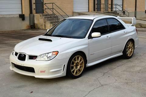2007 Subaru Impreza Awd Wrx Sti 4dr Sedan Wgold Wheels In Tucker Ga
