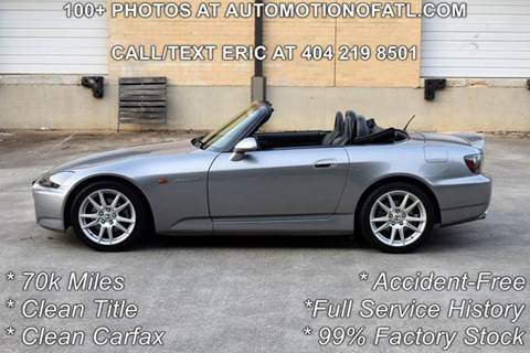 2005 Honda S2000 for sale in Tucker, GA