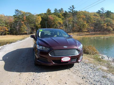 2013 Ford Fusion for sale in Harpswell, ME