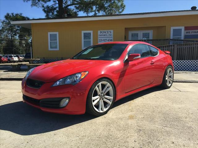 2010 HYUNDAI GENESIS COUPE 38L 2DR COUPE 6A red air conditioning power windows power locks po