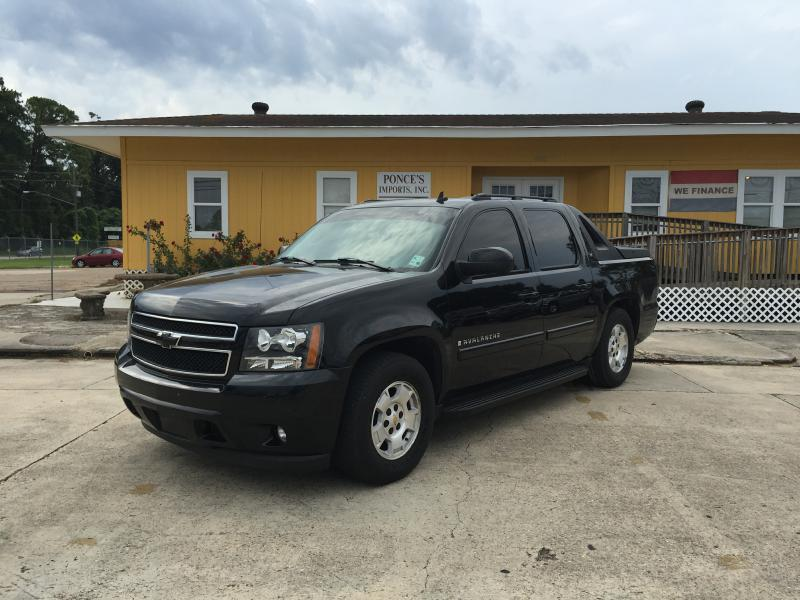 2007 CHEVROLET AVALANCHE 1500 black air conditioning power windows power locks power steering