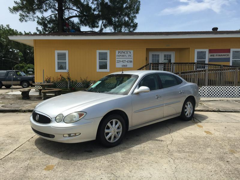 2005 BUICK LACROSSE CXL 4DR SEDAN silver driver air bag passenger air bag climate control mult