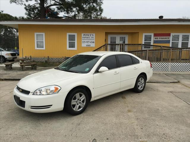 2008 CHEVROLET IMPALA LS SEDAN white air conditioning power windows power locks power steering