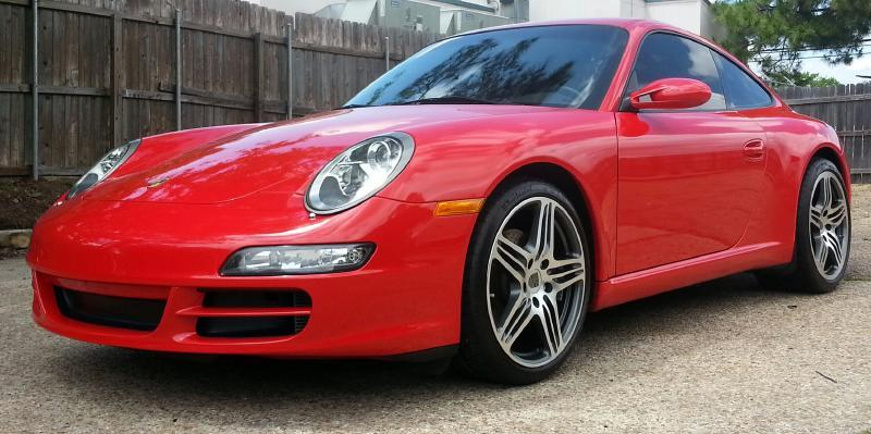 2007 PORSCHE 911 CARRERA red over 16000 in upgrades plus a comprehensive warranty transfers to