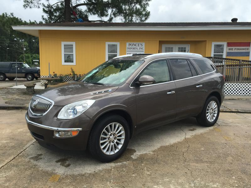 2010 BUICK ENCLAVE CXL 4DR SUV W1XL brown air conditioning power windows power locks power st
