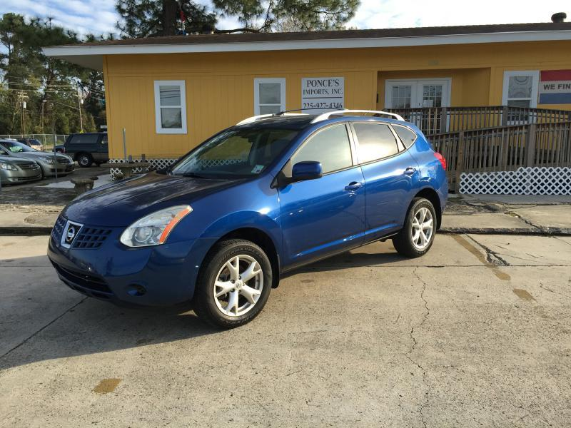 2008 NISSAN ROGUE S CROSSOVER 4DR blue air conditioning power windows power locks power steeri