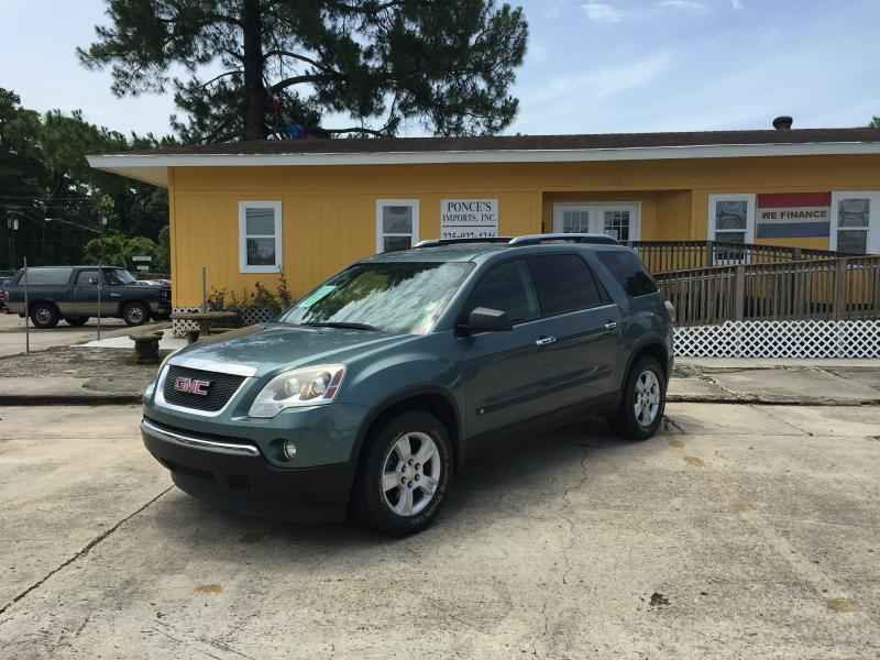 2009 GMC ACADIA SLE-1 4DR SUV blue air conditioning power windows power locks power steering