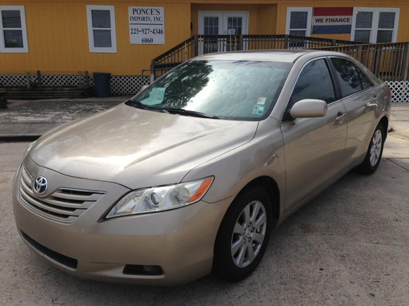 2007 TOYOTA CAMRY V6 AUTO LE GS gold driver air bag passenger air bag front side air bag fro