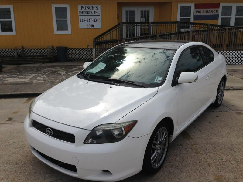 2007 SCION TC white air conditioning power windows power locks power steering tilt wheel am