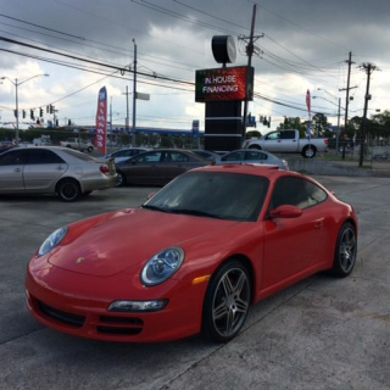 2007 PORSCHE 911 CARRERA red over 16000 in upgrades non-smoker must see to apreciate ride with