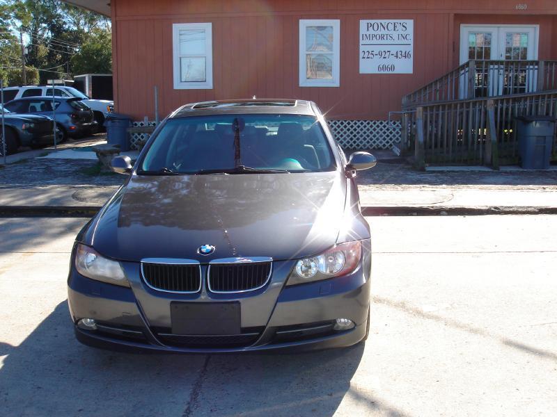 2008 BMW 3 SERIES 328XI AWD 4DR SEDAN gray air conditioning standard power windowslocks stand
