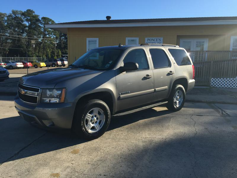 2007 CHEVROLET TAHOE LS 4DR SUV gray air conditioning power windows power locks power steering