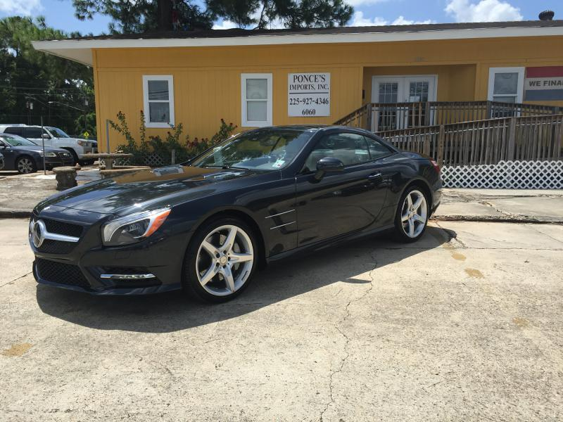 2013 MERCEDES-BENZ SL-CLASS SL550 2DR CONVERTIBLE black air conditioning power windows power lo