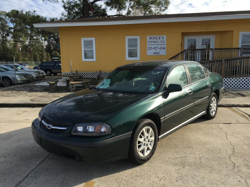 2002 CHEVROLET IMPALA BASE 4DR SEDAN green driver air bag passenger air bag multi-zone ac ac