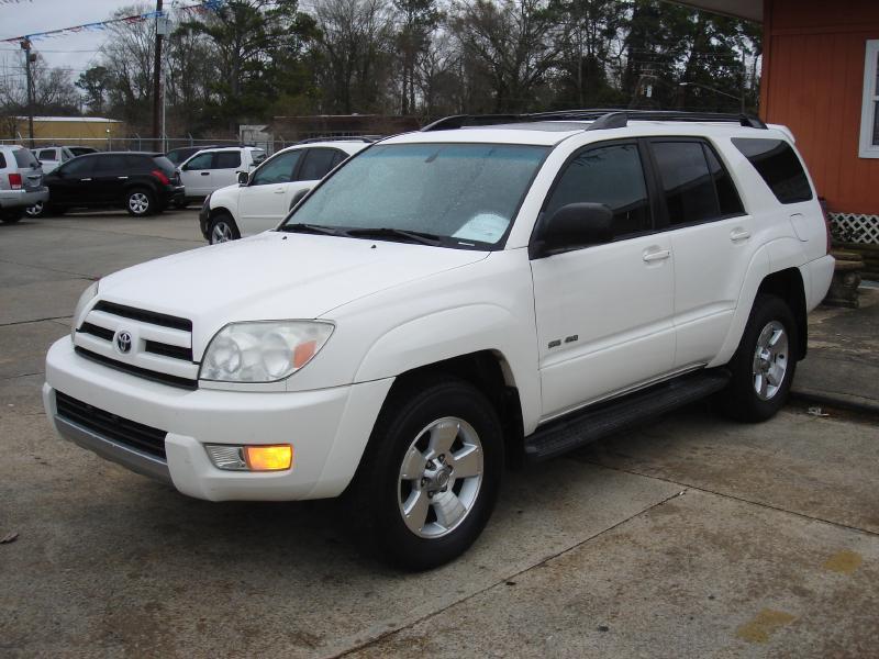 2004 TOYOTA 4RUNNER SR5 4WD 4DR SUV white air conditioning standard power windowslocks standa